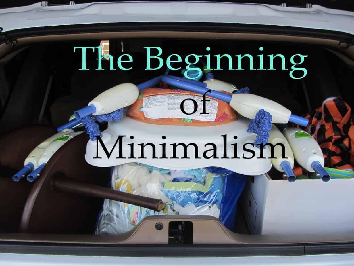 minimalism one month