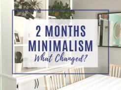 Minimalism 2 Month Journey