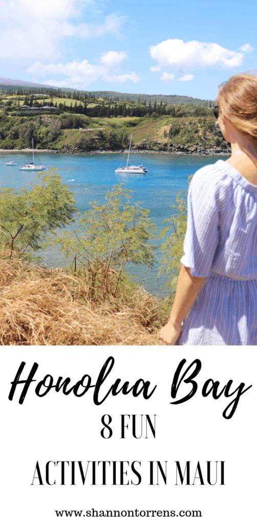 honolua Bay Maui, fun with kids in maui