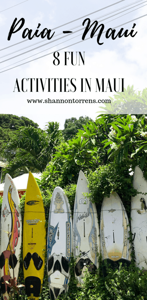 PAIA MAUI - FUN ACTIVITIES IN PAIA