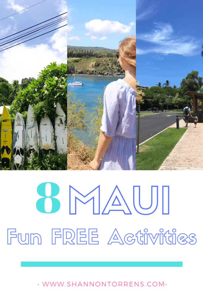 TRAVEL TO MAUI - FREE ACTIVITIES