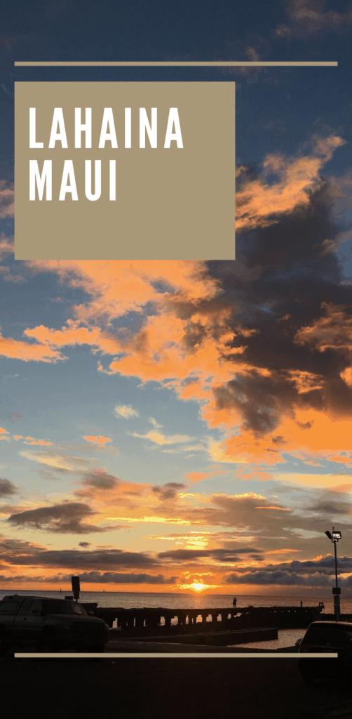 lahaina maui - travel