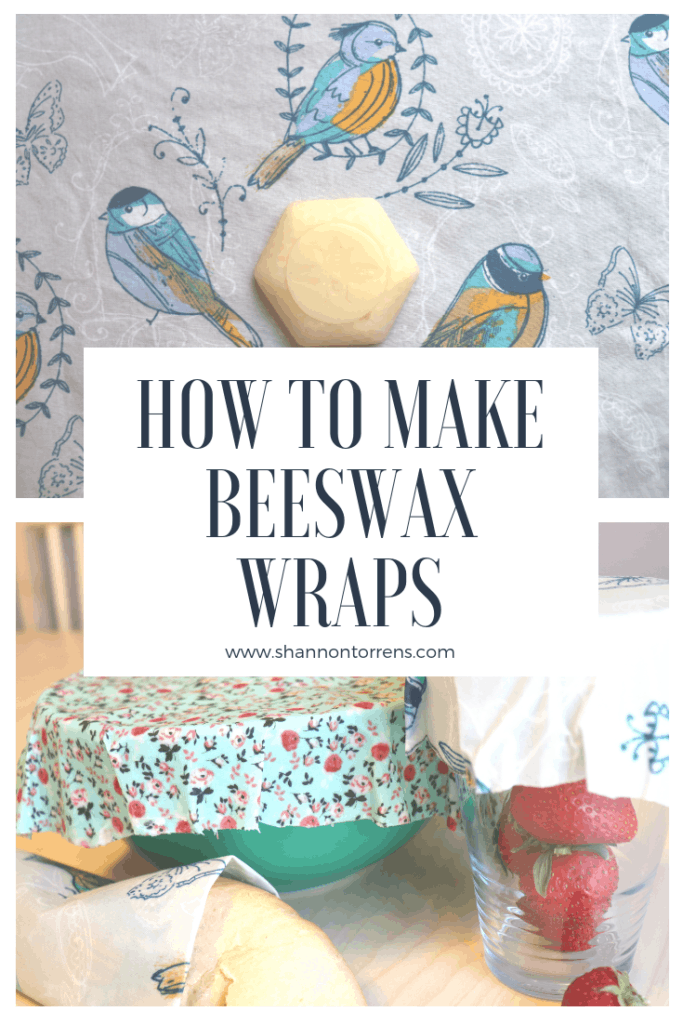 HOW TO MAKE BEESWAX WRAPS - SIMPLE