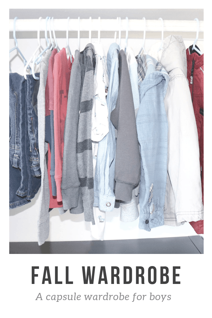 Fall Capsule Wardrobe For Boys