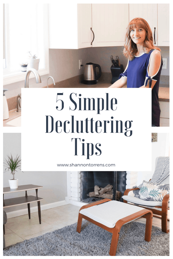 5 simple decluttering tips #decluttering #simpleliving #minimalist #minimalism