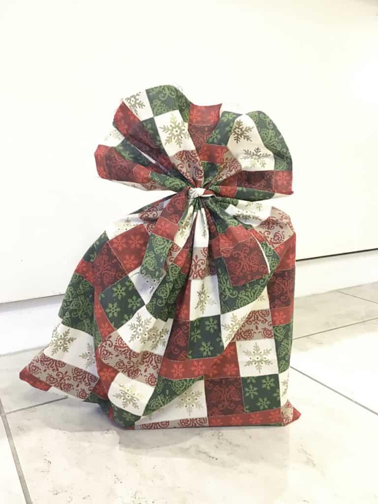 Reusable Christmas Gift Bags