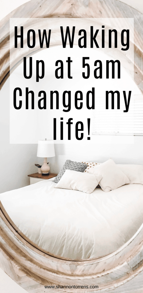 how waking up at 5am is changing my life