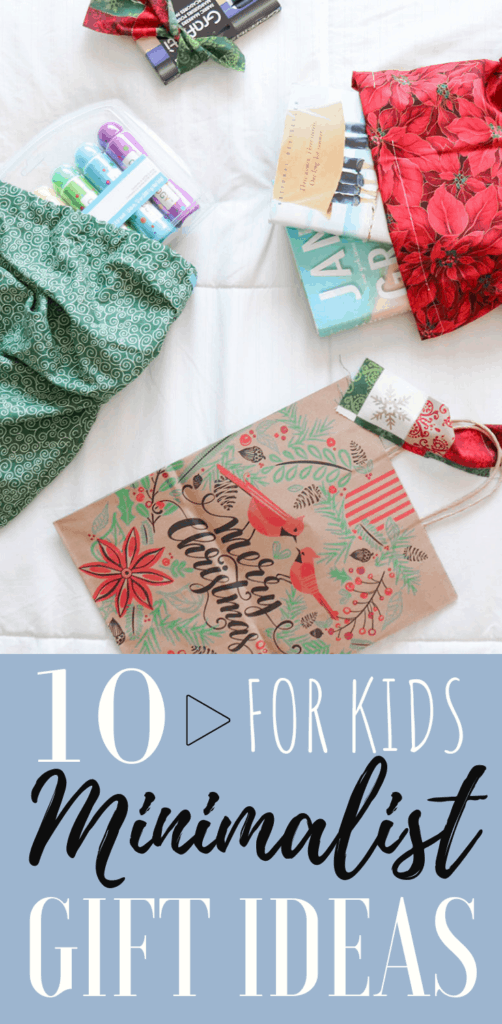 10 MINIMALIST GIFT IDEAS FOR KIDS