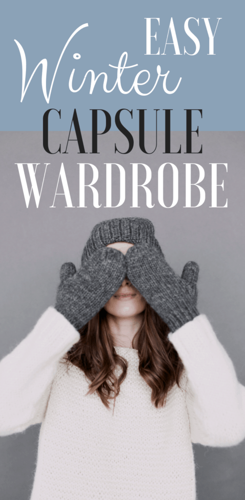EASY WINTER CAPSULE WARDROBE