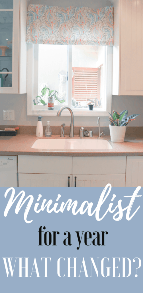 Becoming Minimalist for a Year - What has Changed