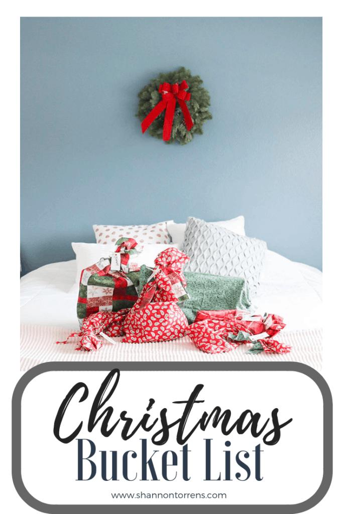 Christmas bucket list for fun