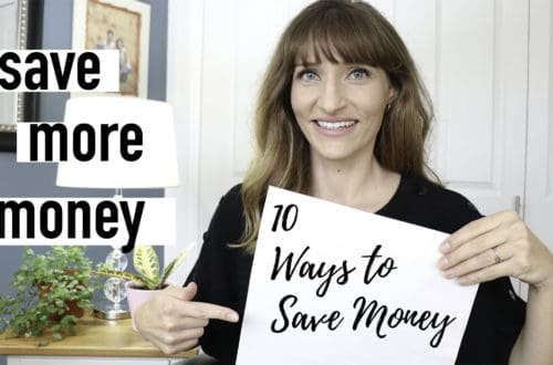WAYS TO SAVE MONEY SIMPLE LIVING