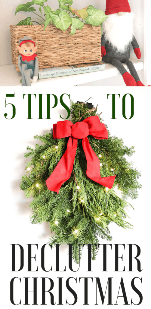 5 TIPS TO DECLUTTER CHRISTMAS