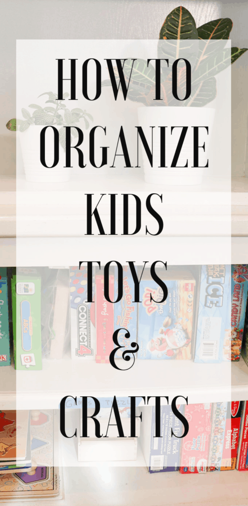 how to organize games and crafts