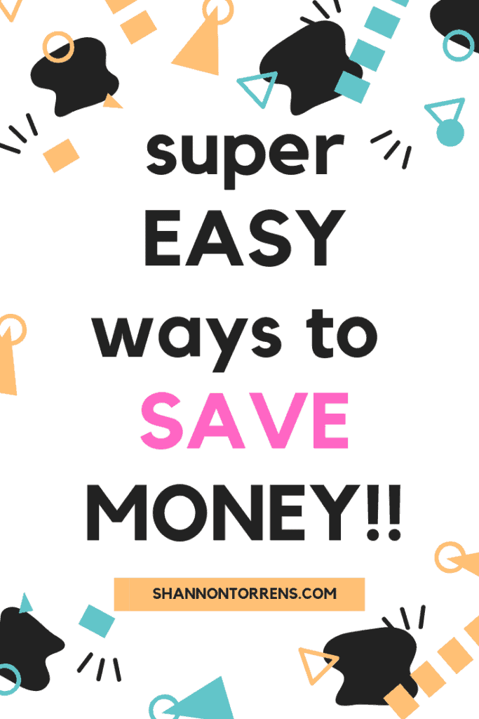 10 simple ways to save money - how to save money