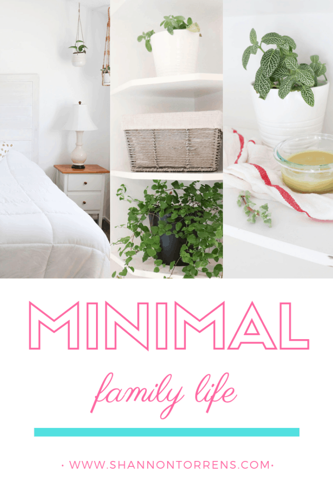 minimalist simple living family