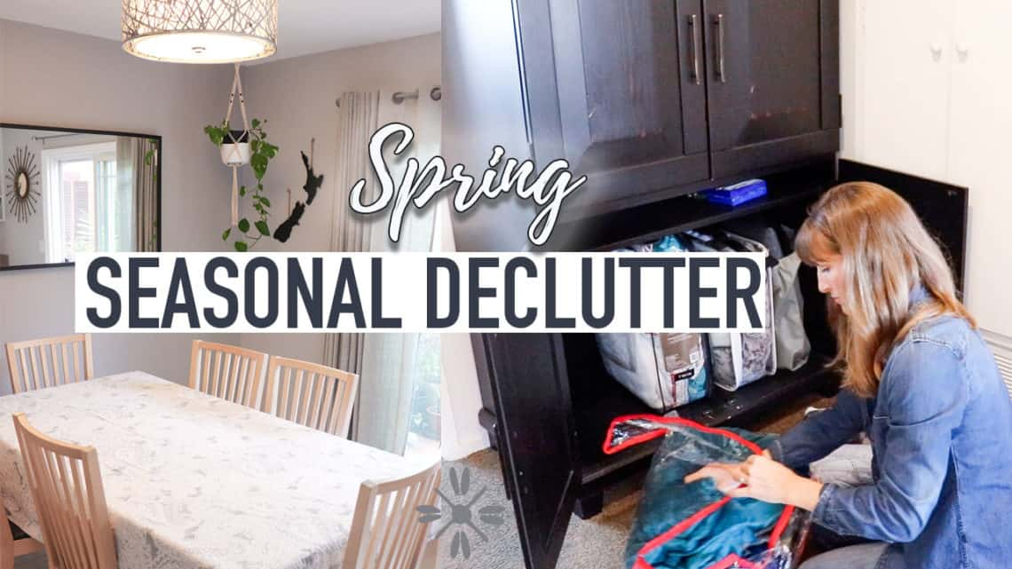 Seasonal declutter simple and easy declutter