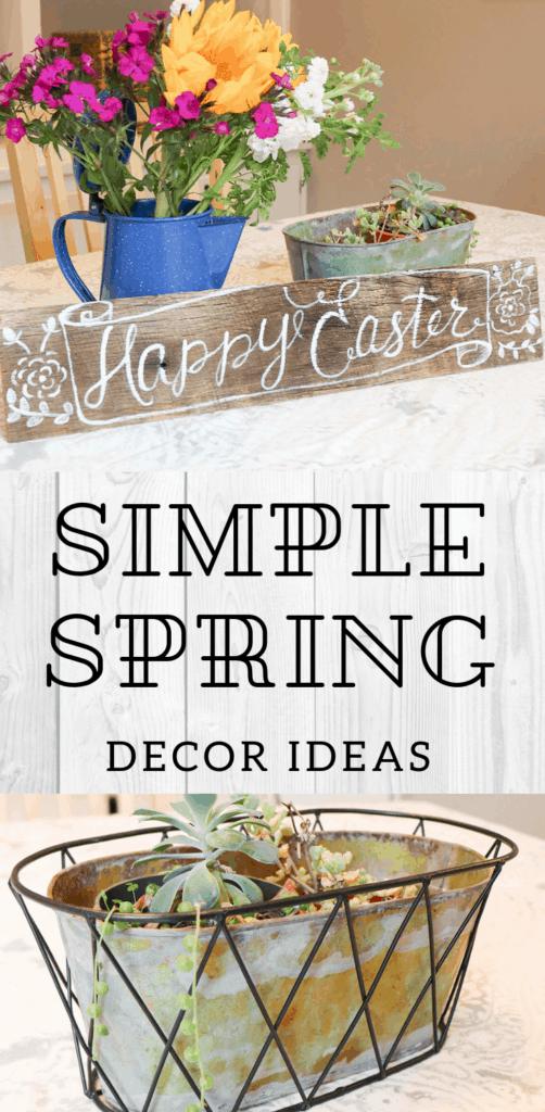 Simple Spring Decor ideas