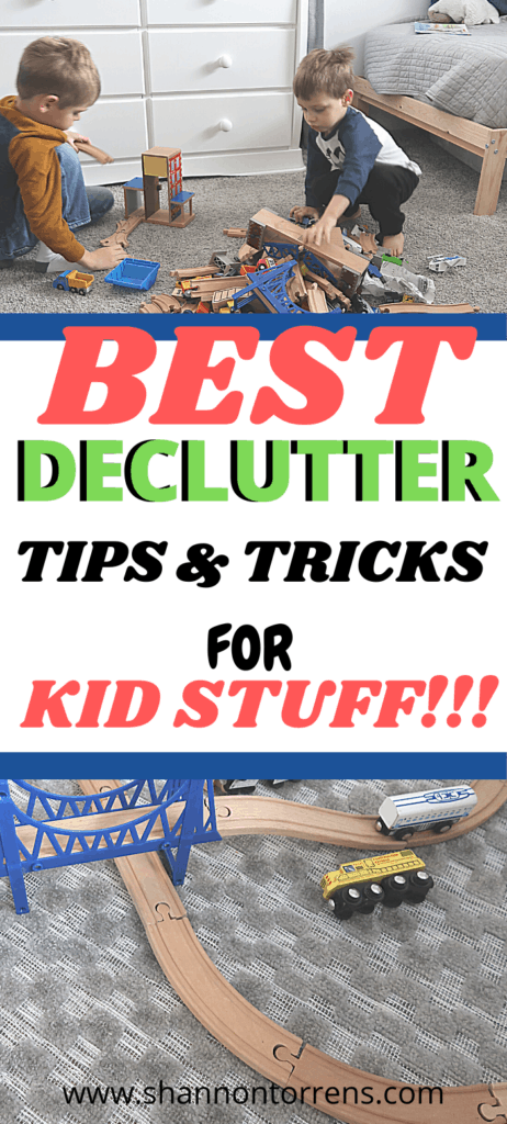 BEST TIPS FOR DECLUTTERING KID STUFF