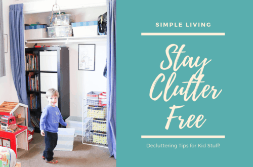 tips for declutter stay clutter free