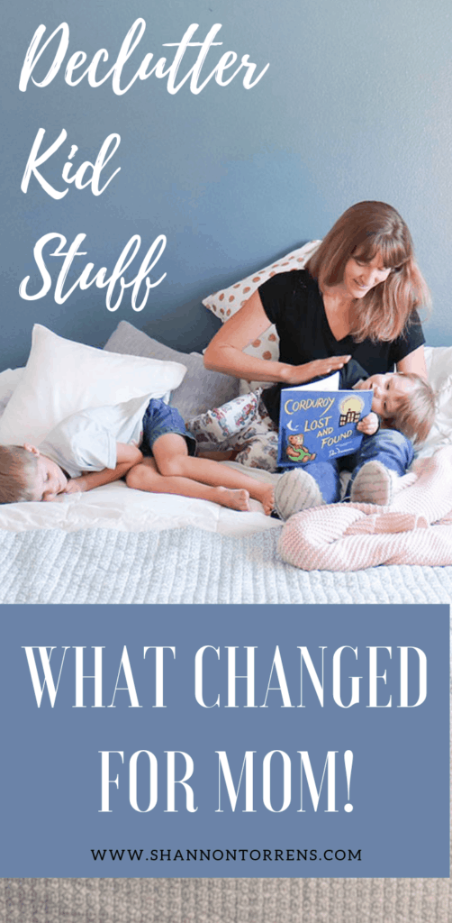 DECLUTTER KID STUFF