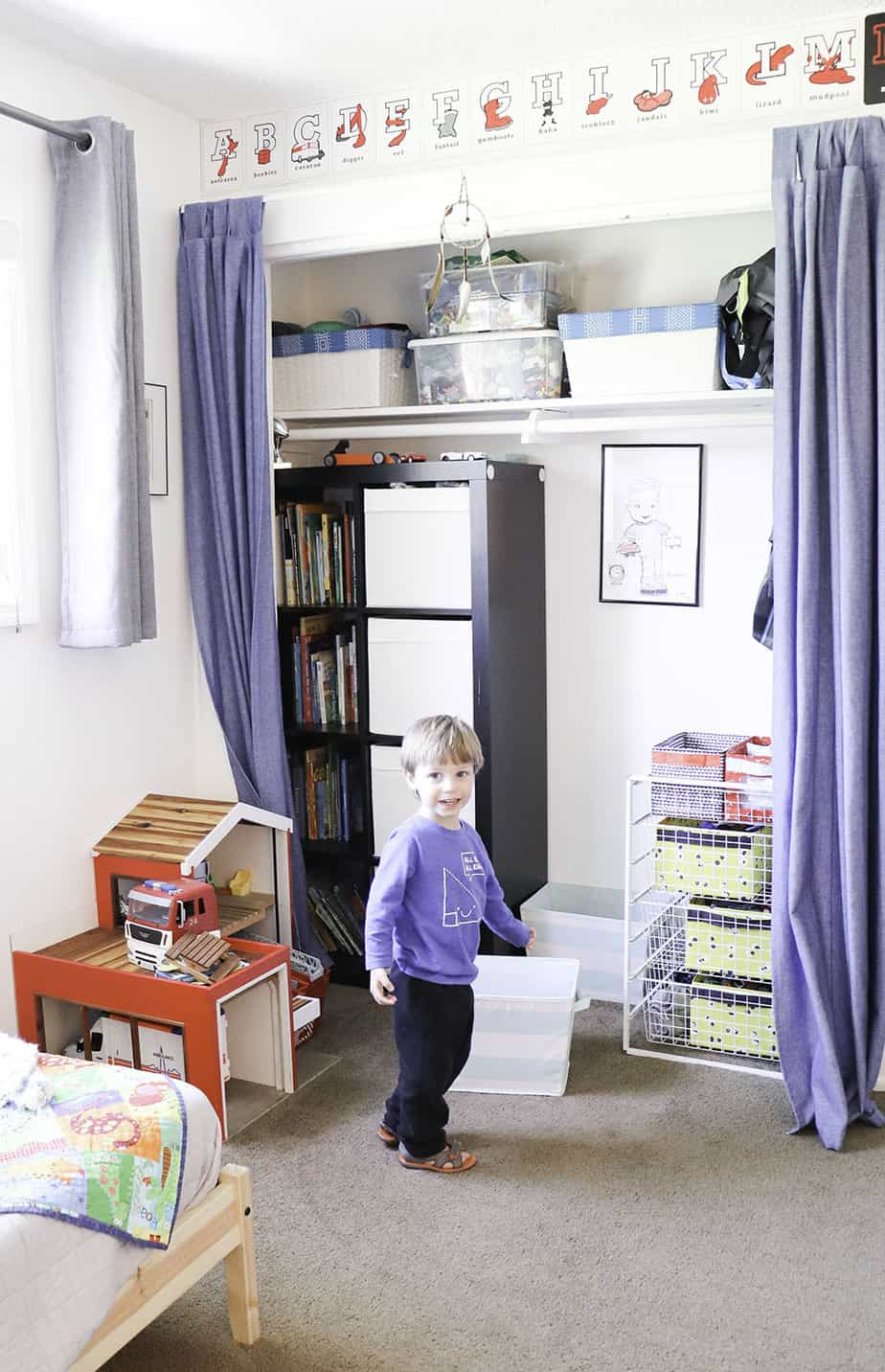 breathtaking minimalist kids bedroom | Decluttered Kids Before and After - Decluttering Results ...