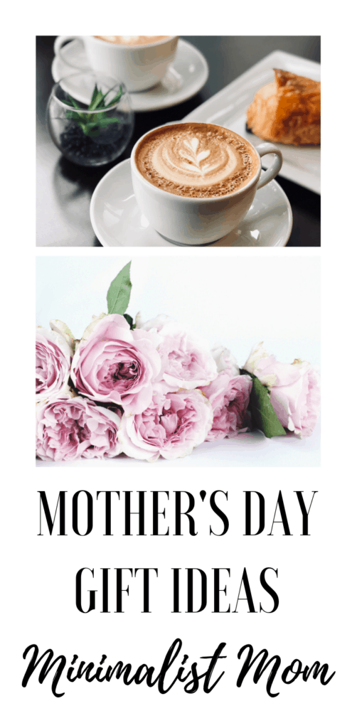 MOTHERS DAY GIFT IDEAS FOR THE MINIMALIST MOM