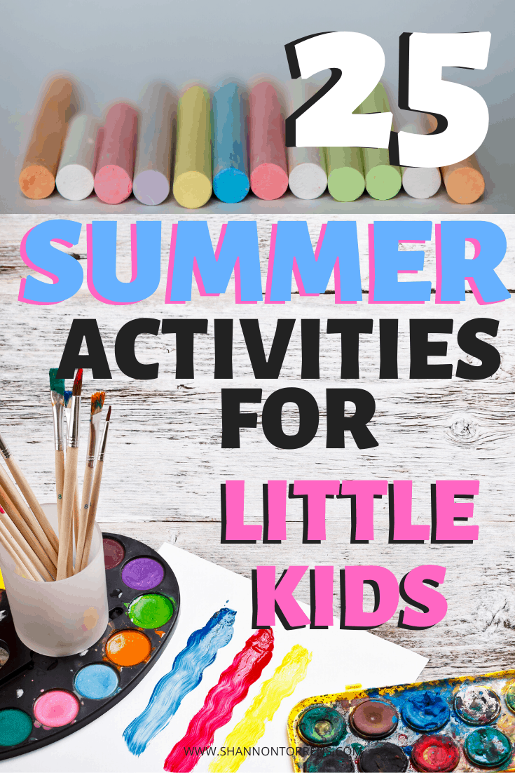 25 summer activities for little kids