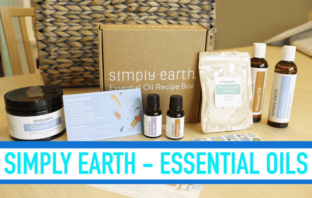 All Natural Slime with Essential Oils