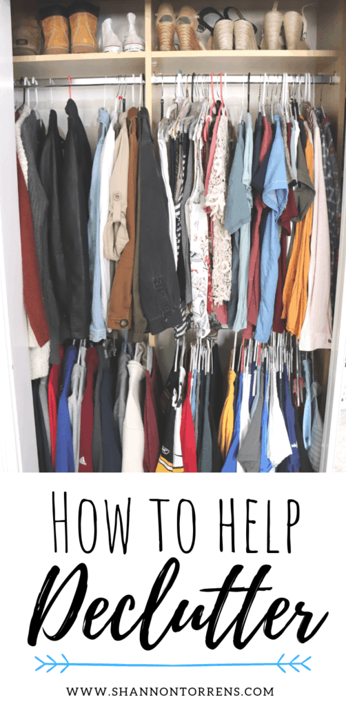 how to help declutter