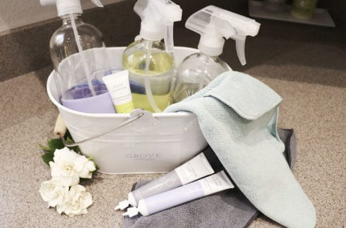 minimal natural cleaning supplies