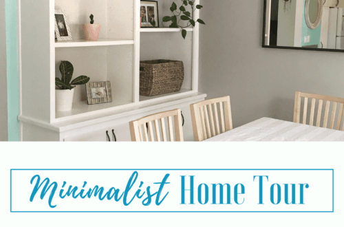 minimalist home decor and house tour