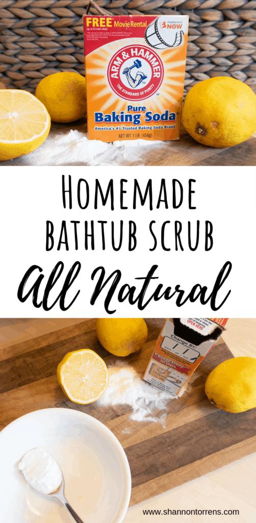 homemade bathtub scrub all natural
