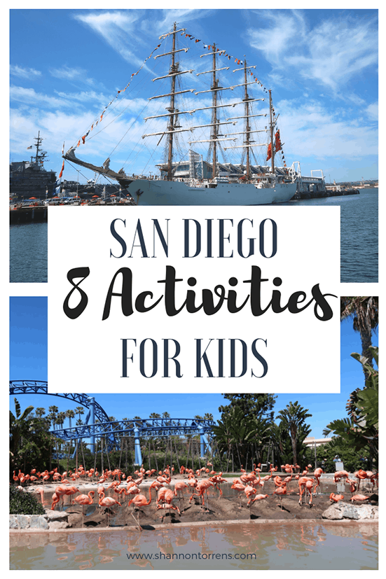 San Diego 2 activities for kids
