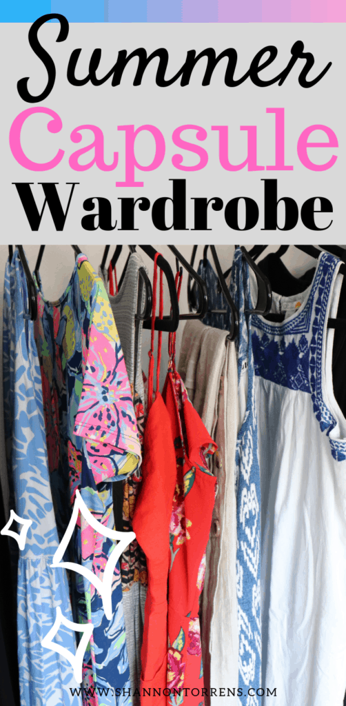 Summer capsule wardrobe tips and tricks