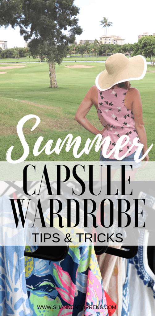 Capsule Wardrobe tips and tricks