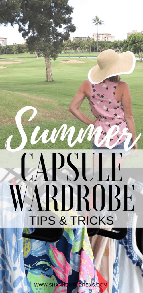 Capsule Wardrobe tips and tricks