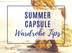 summer capsule wardrobe tips