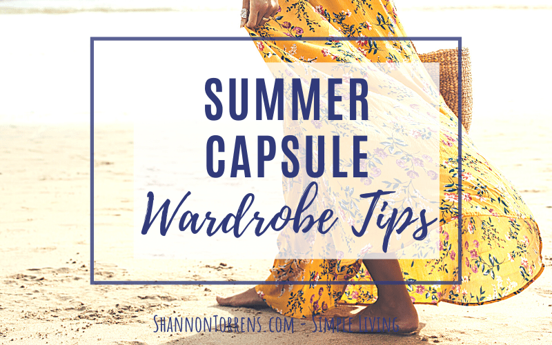 summer capsule wardrobe tips