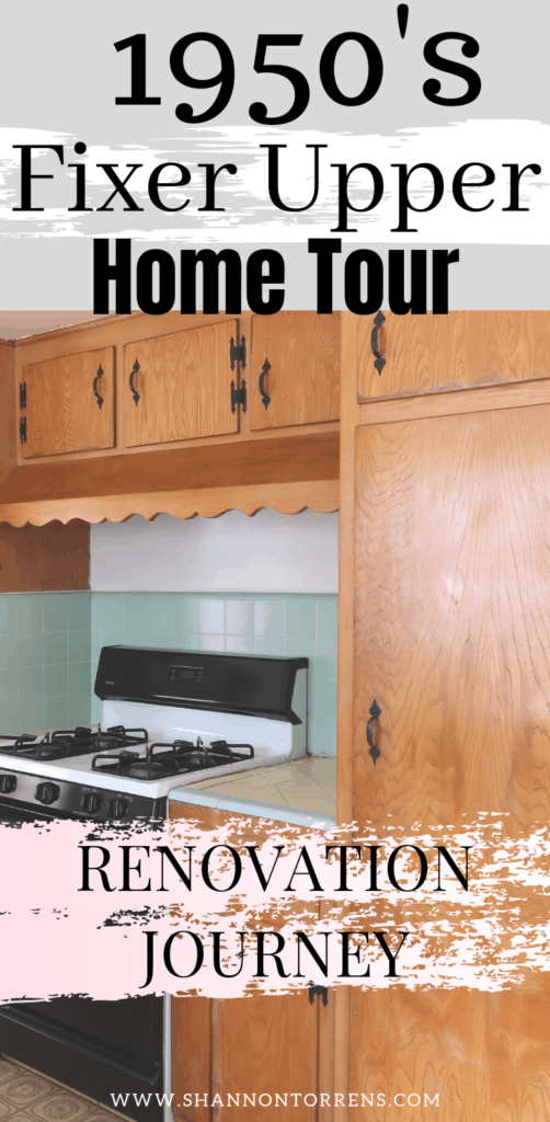 1950's Fixer Upper Home Tour