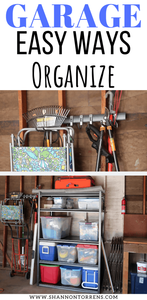 ORGANIZED GARAGE IDEAS