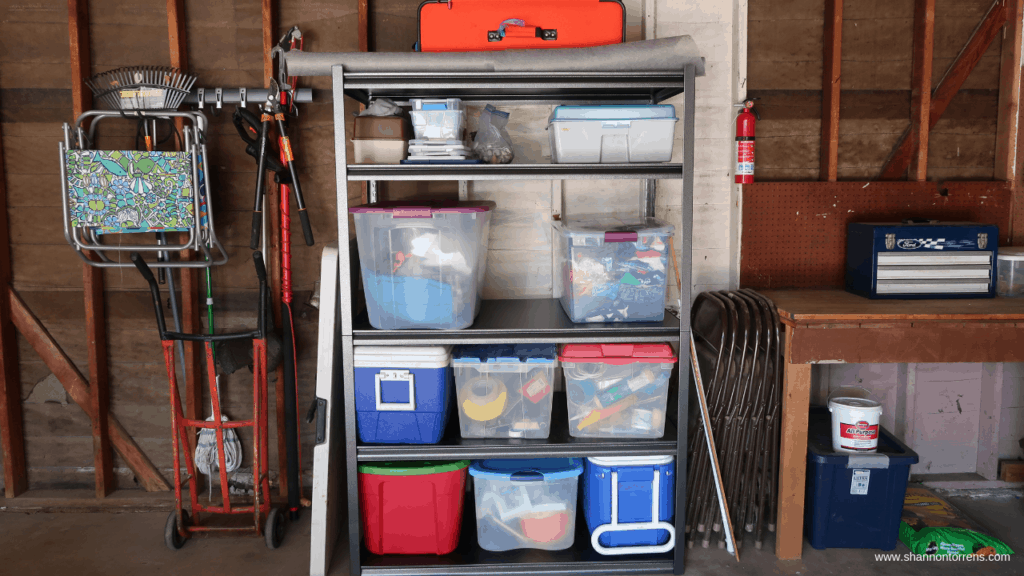 HOW TO ORGANIZE A GARAGE SIMPLE ORGANIZATION