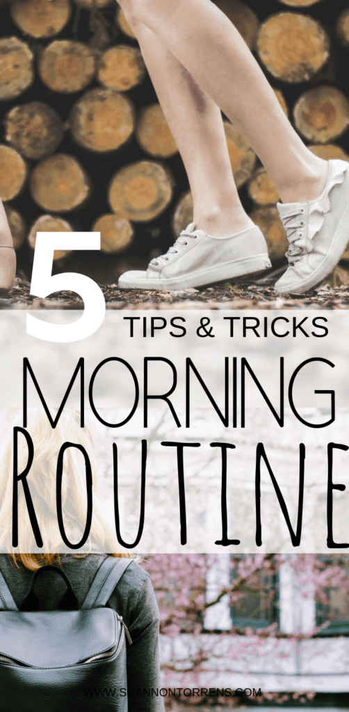 5 TIPS - MORNING ROUTINE
