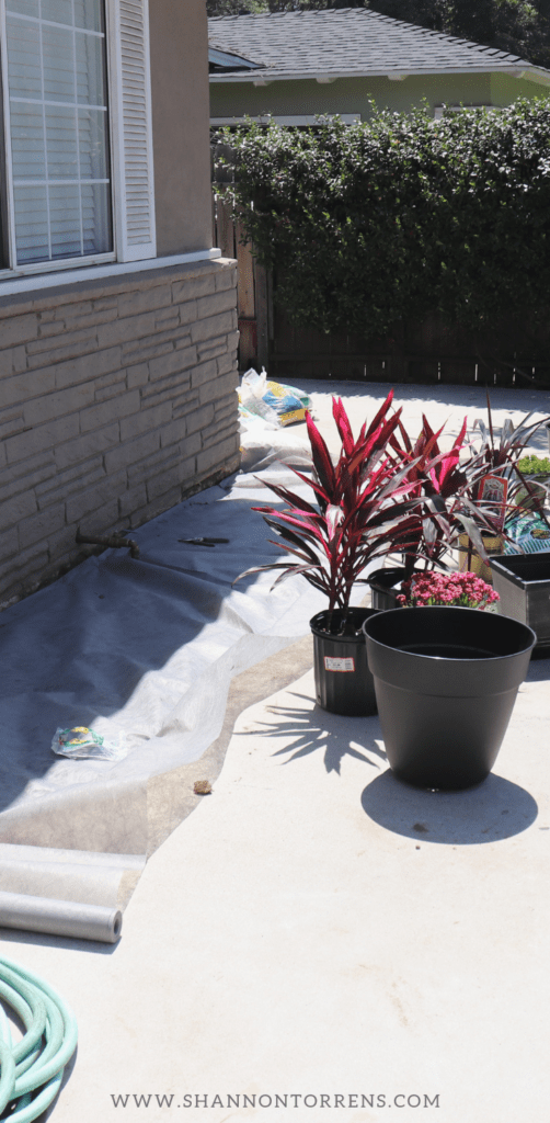 Drought Tolerant weed cloth