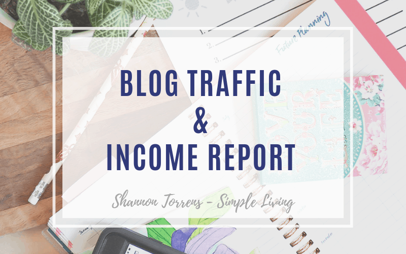 Blog Traffic and Income Report