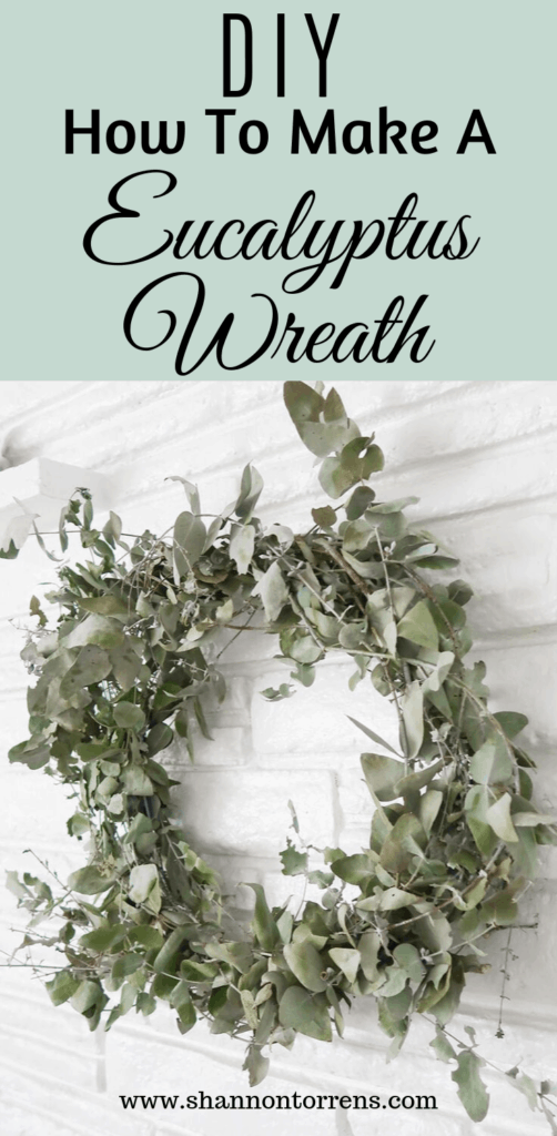 How to Make a Eucalyptus Wreath