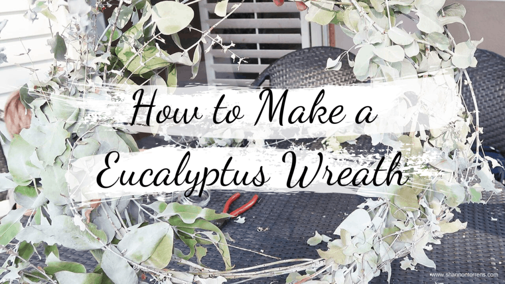 How to Make a Fresh Eucalyptus Wreath DIY