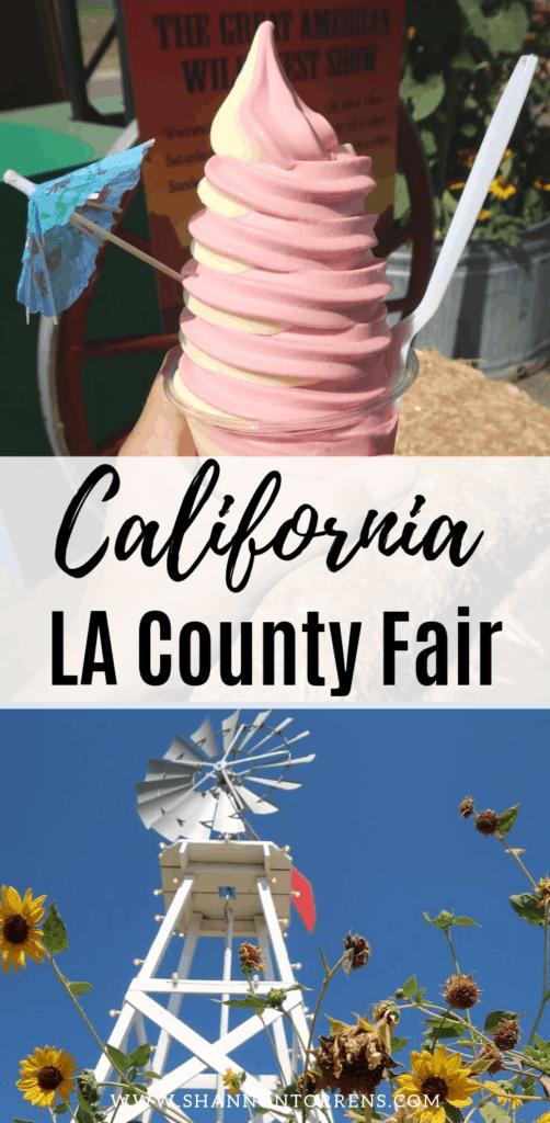 La County Fair California fun things to do