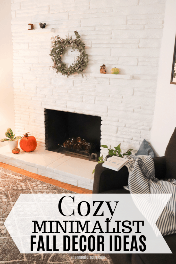 Cozy minimalist fall decor ideas