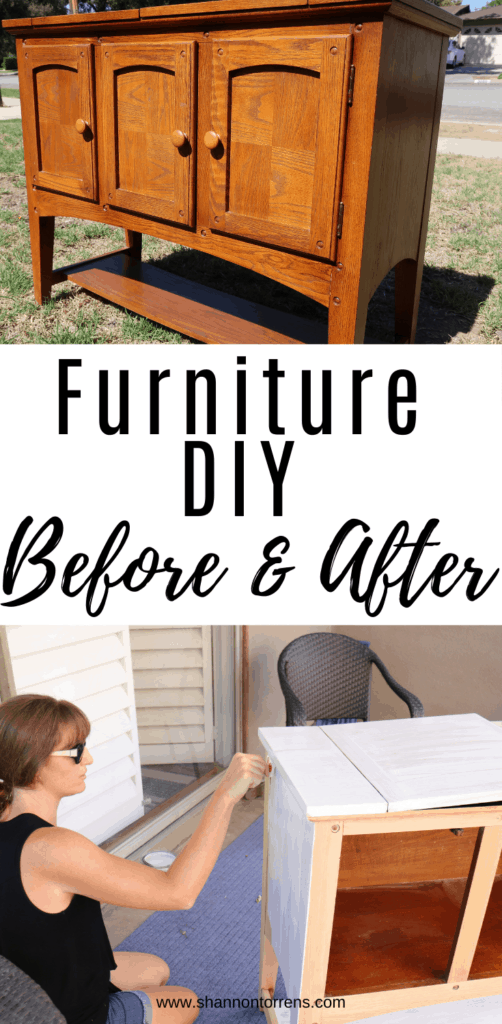 Furniture DIY before and after